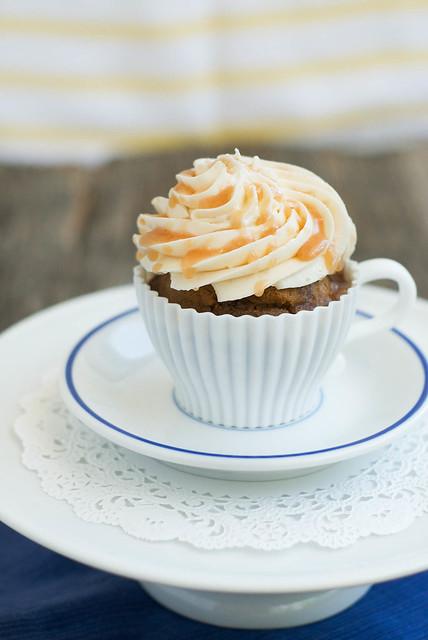 Caramel Macchiato Cupcakes