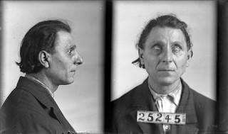 Fred, DeGeorge. Inmate #25245 (MSA)