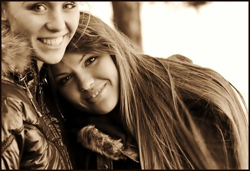 Beautiful girls ..