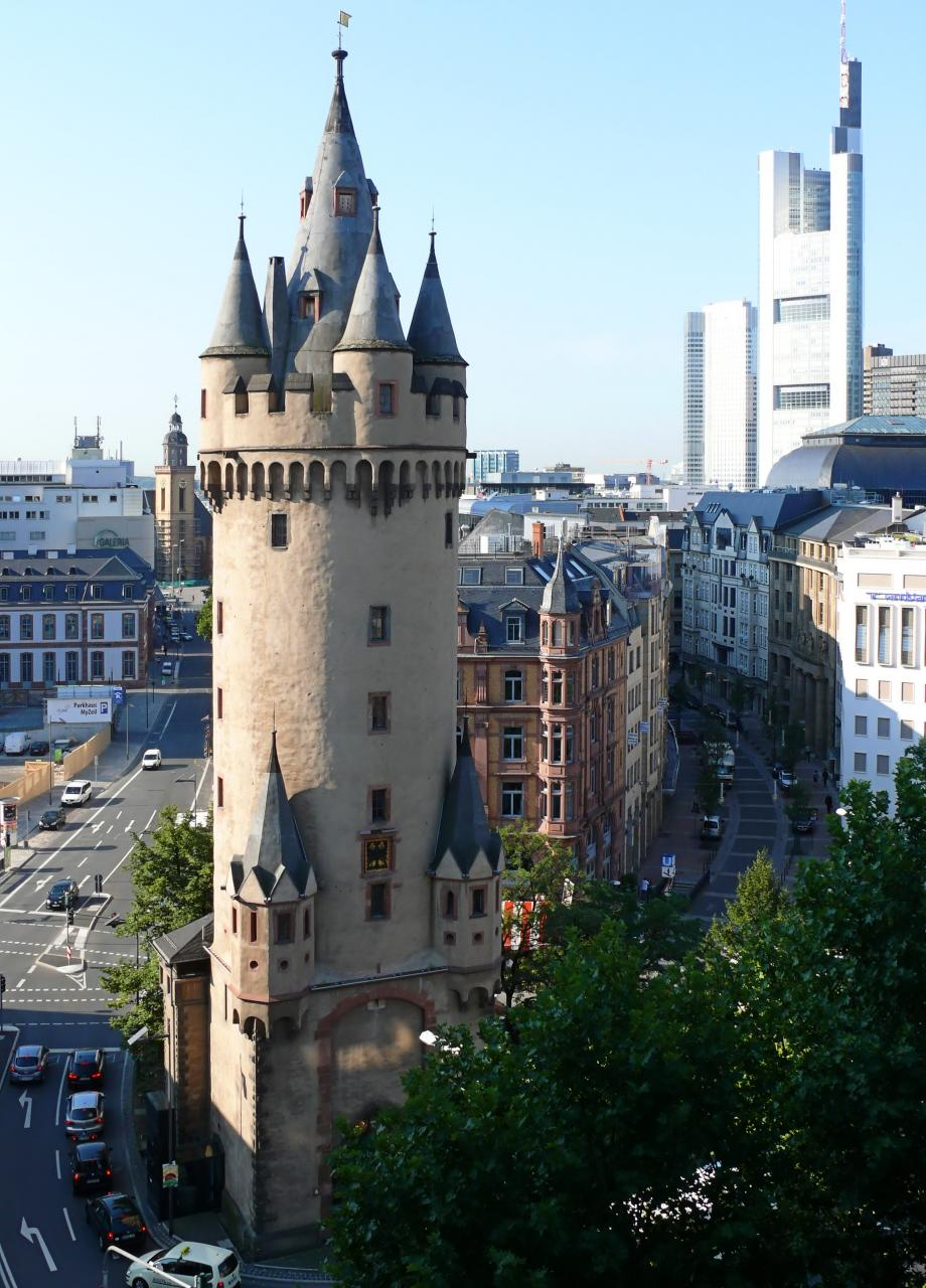 Frankfurt - Eschenheimer Turm 2011