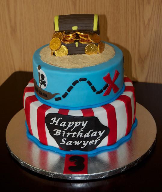Pirate Cake Flickr Photo Sharing