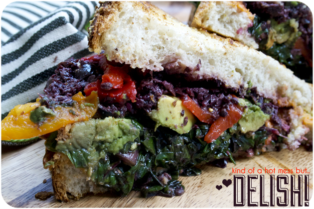 Chard to resist a veggie sandwich love story the cuisinerd for Absolutely delish cuisine