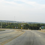 Entrance to I-20, Birmingham, Alabama, Looking Towards Industrial Area