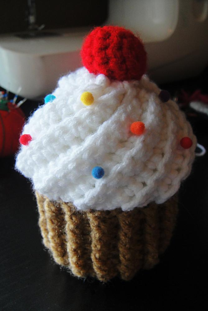 Crochet Cupcake Flickr - Photo Sharing!