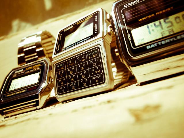 80s casio digital watches modern vintage flickr