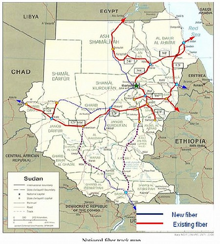 Sudan fibre network