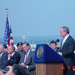 New York City Mayor Michael Bloomberg speaks at ceremony