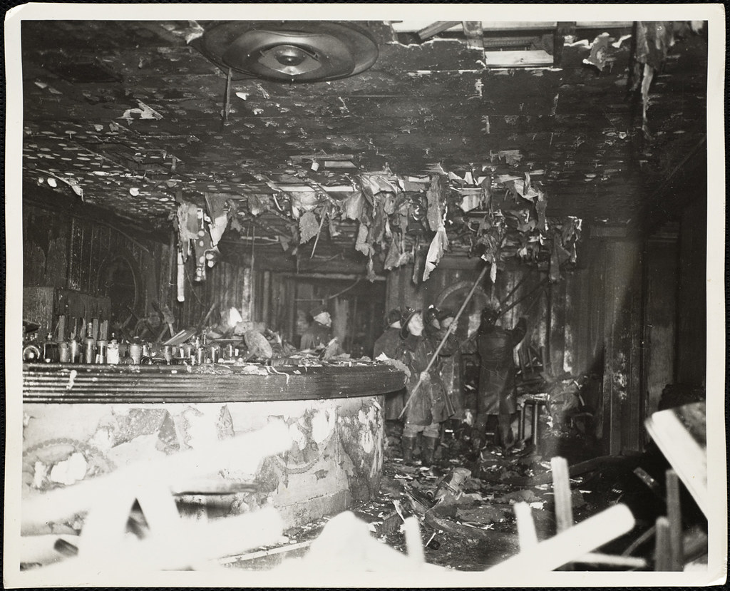 1942 coconut grove fire 75 years later, cocoanut grove fire still influences safety codes, burn care the deadliest nightclub fire in us history left 492 people dead and another 166 injured.