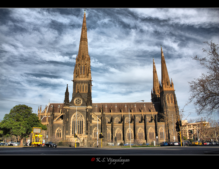 St Patrick's cathedral @ Melbourne