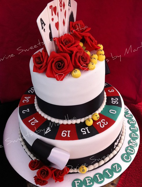 Casino Royale Themed Cakes