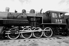 Fort Worth & Denver Railroad locomotive #304, 2-8-0