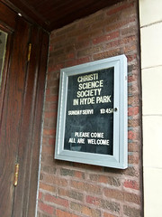 Abandoned Church of Christ Science: Congregation is still meeting, even without the church
