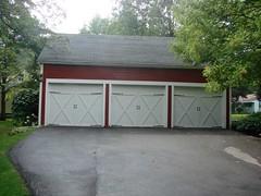 building, garage door, garage, property, driveway, door, real estate, shed, home,