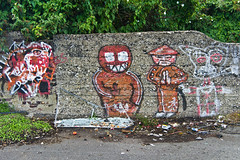 Graffiti & Street Art & Urban Decay (Britain Quay)