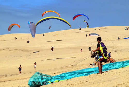 Pyla (or Pilat) Sand Dune - Arachon Bay, France