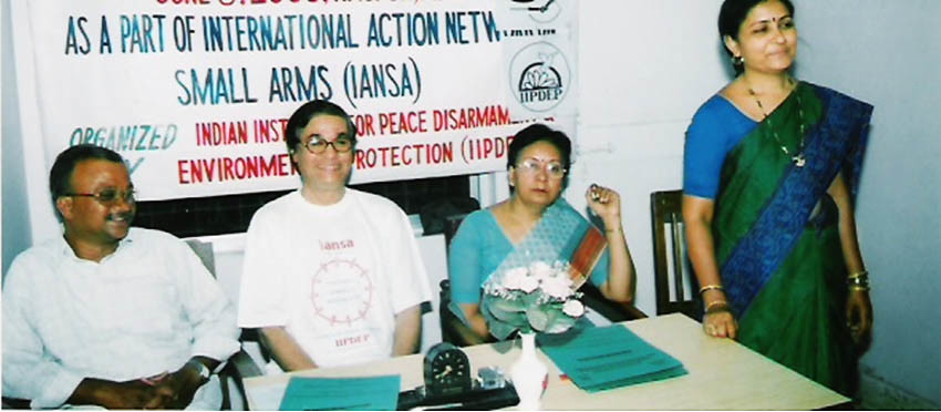 Week of Action against Gun Violence 2011 - India - IPPNW