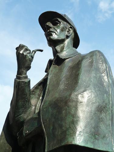 Sherlock Holmes Statue, Baker Street Station