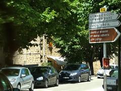 Angle entre la D2 et la N196, Grosseto-Prugna, Corse-du-Sud, Corse