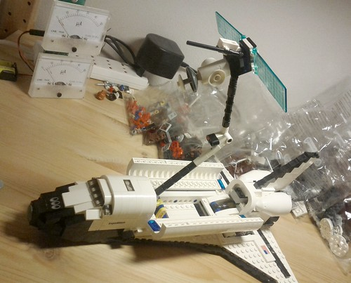 Space Shuttle LEGO kit #10231