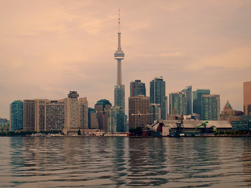 Toronto's Skyline at Sunrise
