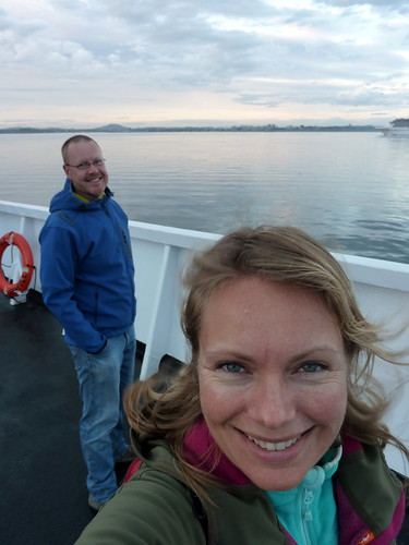 Victoria - ferry naar Port Angeles - USA - 2
