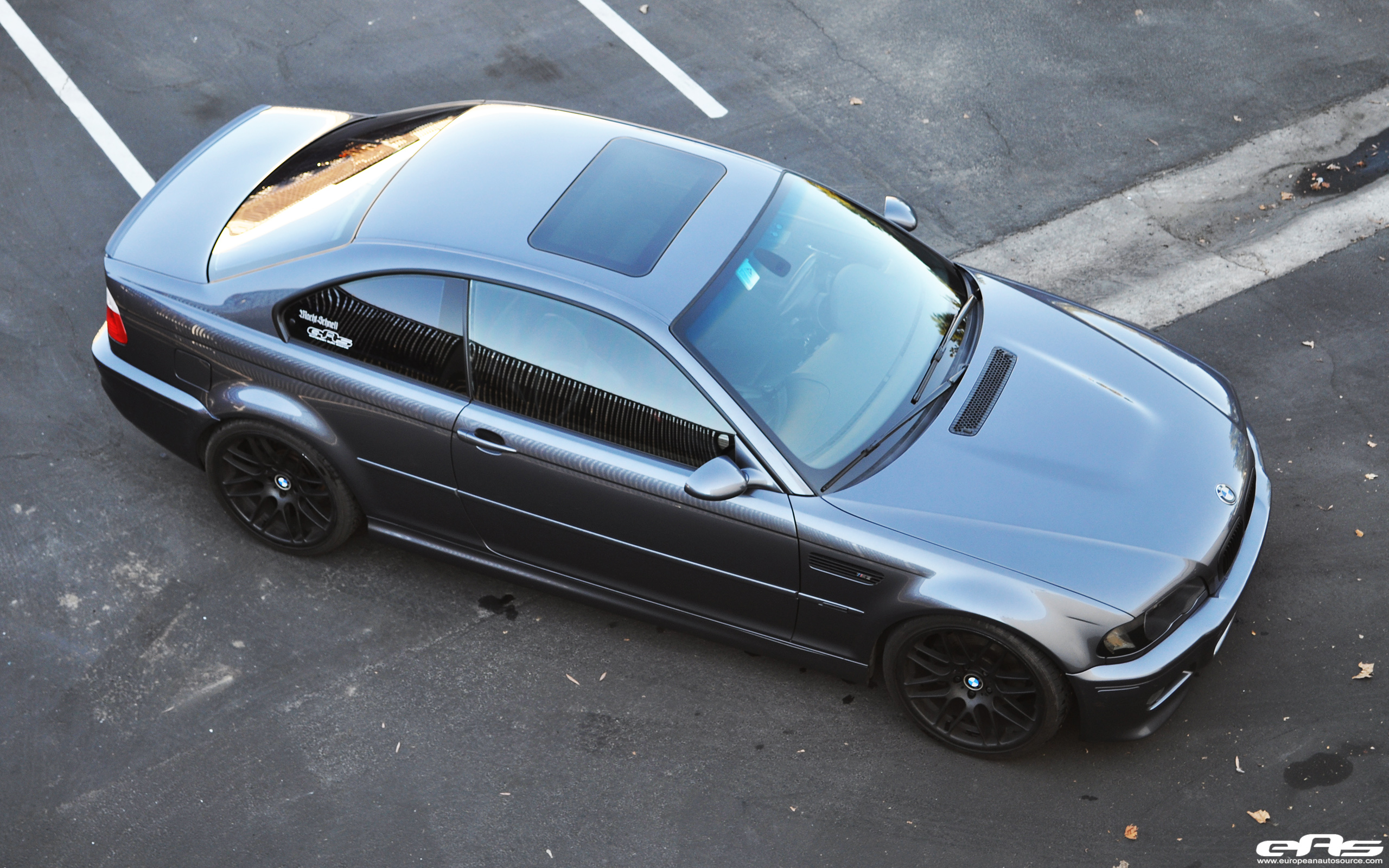 Steel gray e46 m3 on vmr vb3 wheels