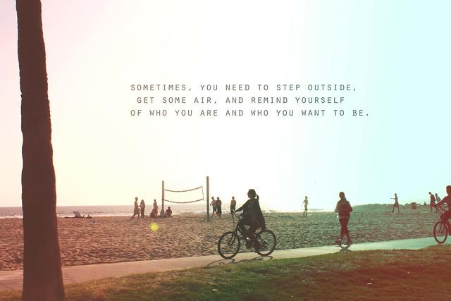 Sometimes,