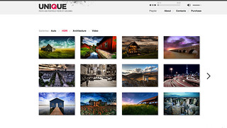 UNIQUE - Photo&Portfolio theme with Audio Player