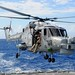Rapid Rope Training from HMS Monmouth's Lynx Helicopter by Defence Images