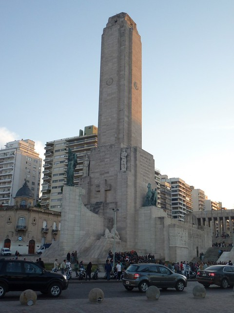 The 70 meter tower at the Flag Memorial