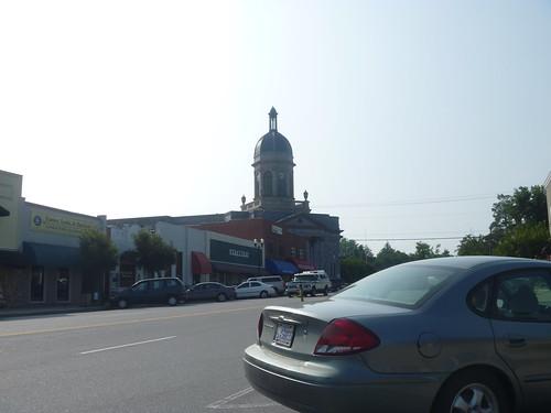 downtown northcarolina courthouse murphy peachtreestreet cherokeecounty