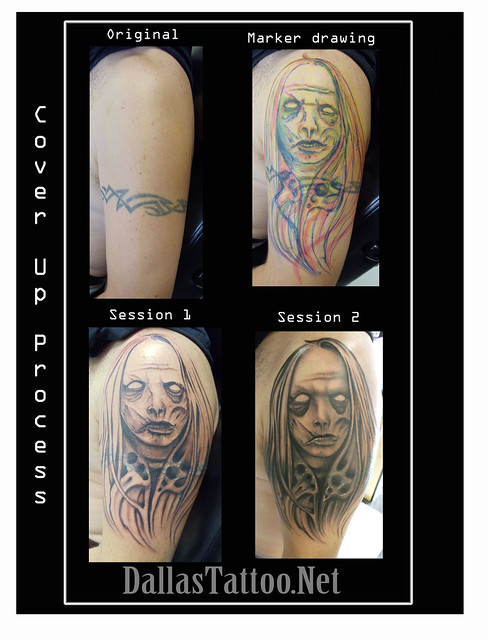 Dallas Tattoo Artist Kayden DiGiovanni Skin Art Gallery TX zombie ...
