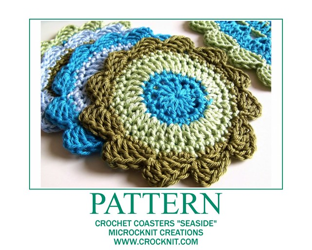 Crochet Pattern: Easiest Coaster Ever - Crochet Spot » Blog