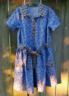 Jump Rope Dress - Ladybugs