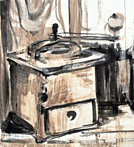 Moulin à café — coffee grinder
