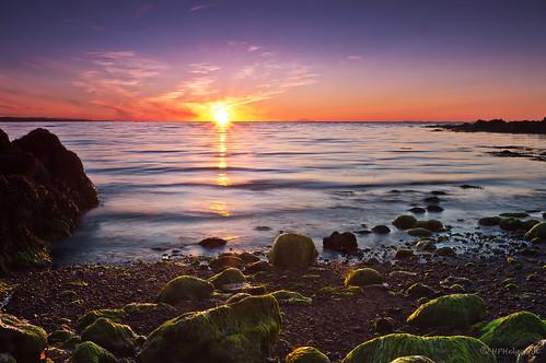 sunset iceland shore summernight fjara sólarlag sumarkvöld hphson sonyslta55