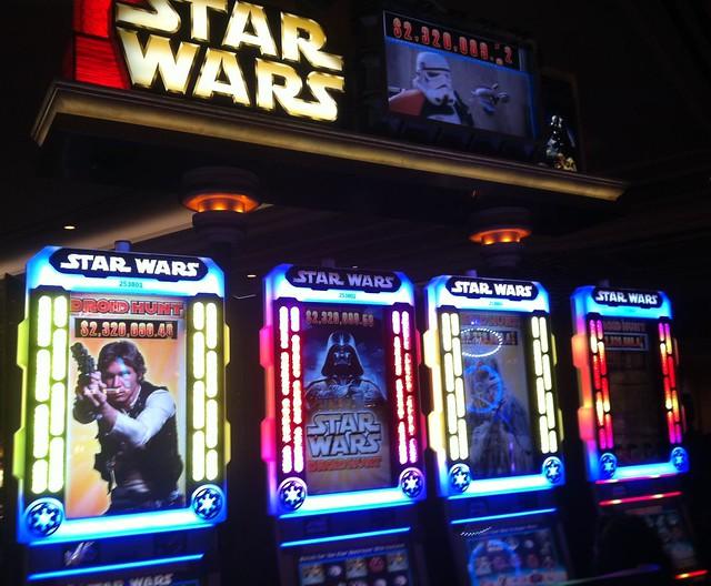 Игровой автомат по Star Wars за $35 тыс: какой там