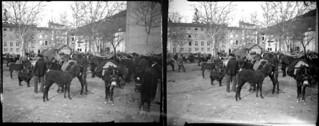 A la foire, Foix, novembre 1905