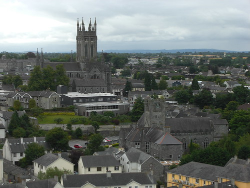 View from St. Canice's Cathedral (Kilkenny)