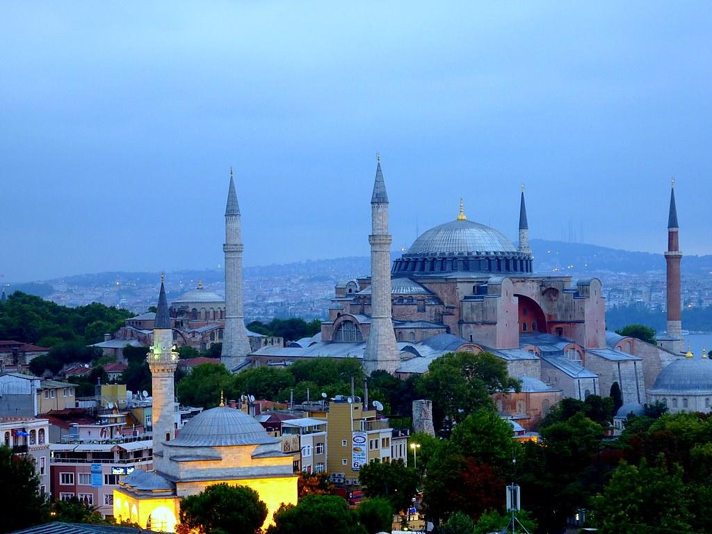 Aya Sophia (Istanbul) in the morning