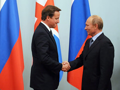 Moscow visit - PM meets Russian prime Minister Vladimir Putin