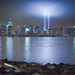 September 11, 2011: The 2011 Tribute in Lights as seen from Liberty State Park by RBudhu