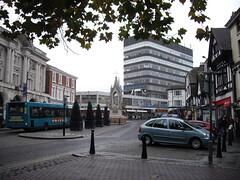 Silver Jubilee Statue in High Street Maidstone