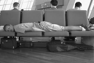 sleeping terminal