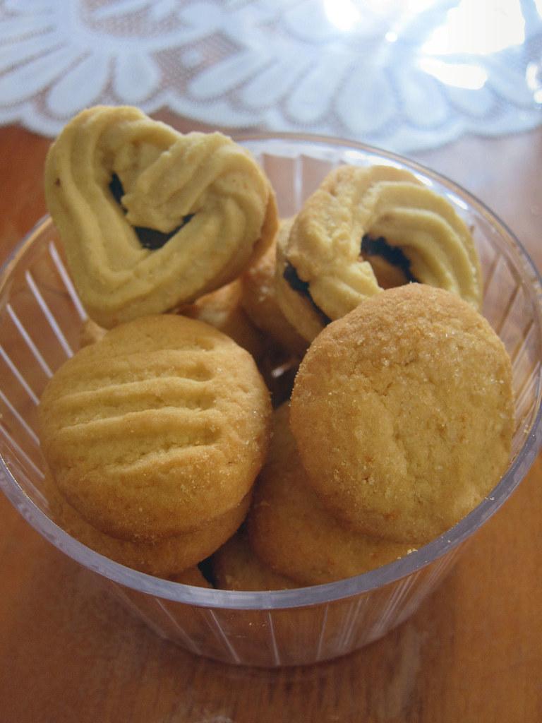 Donna Hay's shortbread cookies