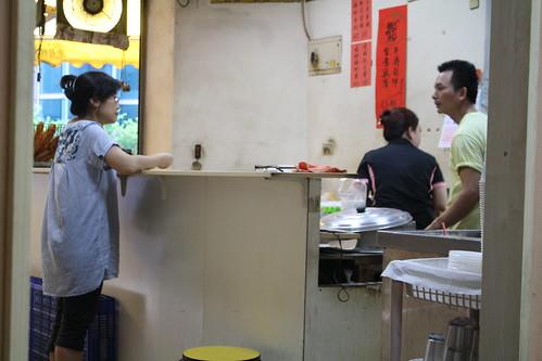 [台湾2.5] 台北の世界豆漿大王の店内