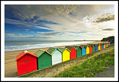 Whitby Beach Huts