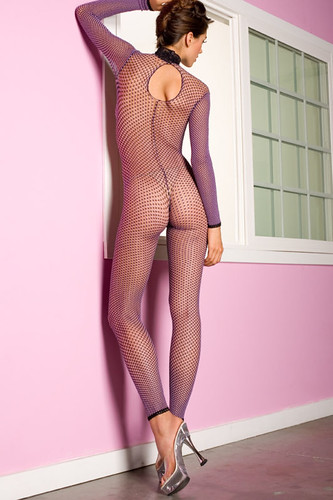 Fishnet Bodystocking and Heels