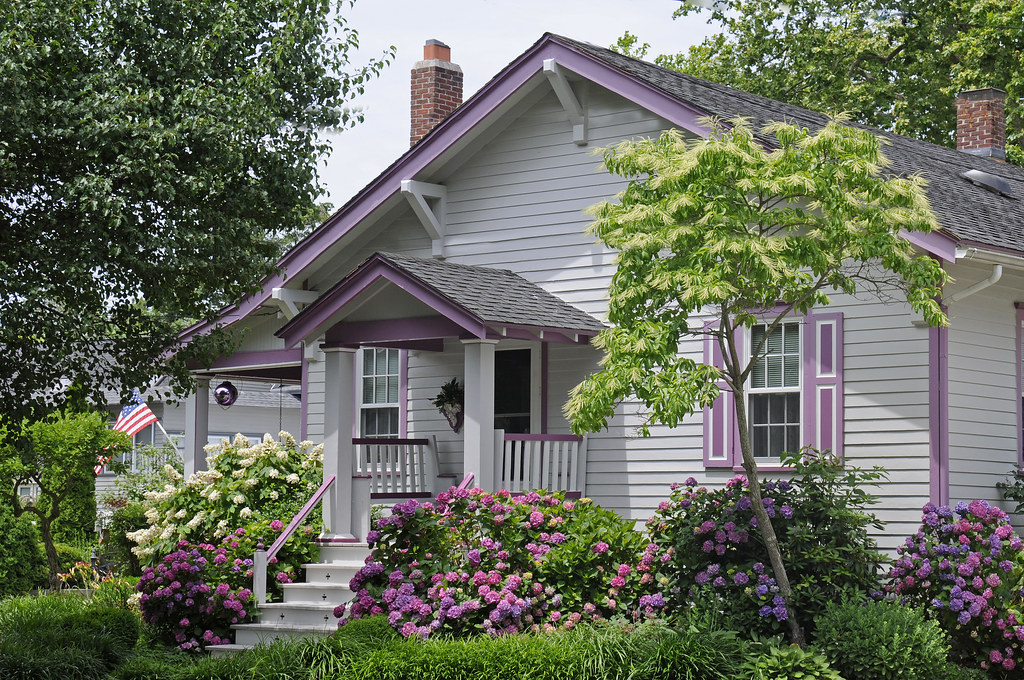 cape may house with purple trim flickr photo sharing