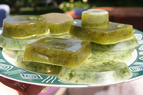Homemade Mint Soap